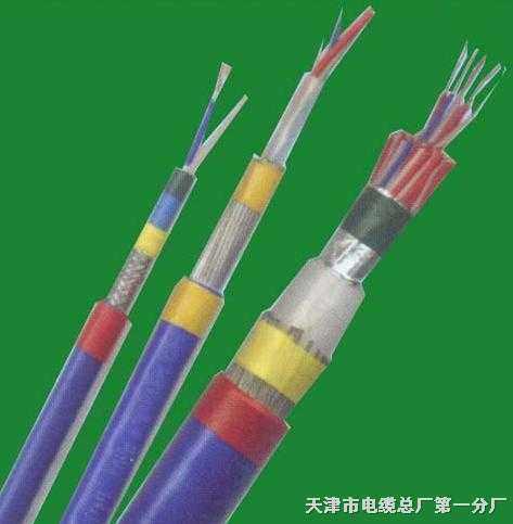 钢丝编织铠装通信电缆