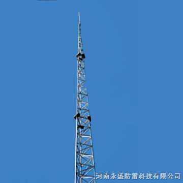 不锈钢工艺塔|不锈钢塔|装饰塔|永盛防雷公司