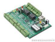 感应式IC卡双门双向 TCP/IP网络型门禁控制器 主板