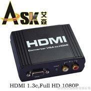 VGA信號+ R/L 轉 HDMI 高清信號轉換器