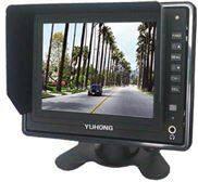 5寸倒車顯示屏,汽車倒車顯示器,24V車載監視器