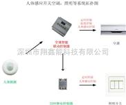 人体感应红外空调自动控制器