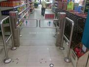 兴创恒超市摆闸深圳超市摆闸带护栏摆闸红外摆闸