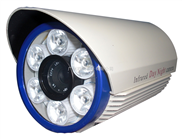 OZ-9006BP夜视高清摄像机 420线 夜视40~60米距离大功率白光灯摄像机 工程专用摄像机