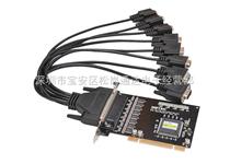 8口商業級RS-232 PCI多串口卡  UT-718