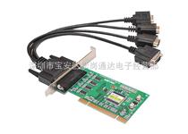 宇泰 4口工業級RS-232 PCI多串口卡 UT-764