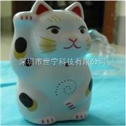 招财猫电子迎宾器商铺迎宾器招财进宝发财猫