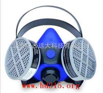 巴固硅胶半面罩/防尘半面具 型号:Sperian 2000 系列头戴式可防毒气/套