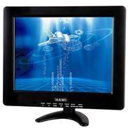 12寸全角触摸显示器支持TV,AV,PC信号可选高清接口